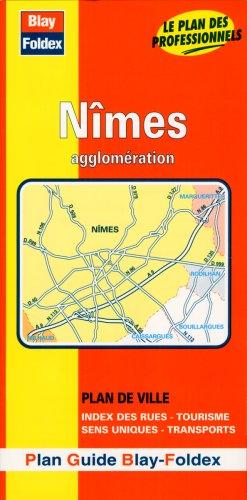 Plan de ville : Nîmes (avec un index)