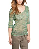 Comma Damen Langarmshirt T-SHIRT 3/4 ARM 81.403.39.6360