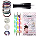 Fantastique Set Kit Nail Art Professi...