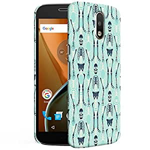 Theskinmantra Hanger Dance Back cover for Moto G4 PLus