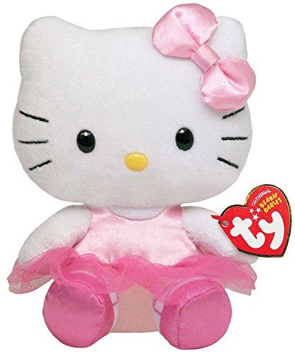 Ty Beanie - Peluche Hello Kitty ballerina, ca. 15 cm
