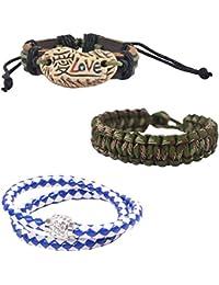 """Alphaman """"Loves U Style"""" Combo Bracelet"""