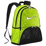 (ナイキ)Nike Product VoltBlackWhite Brasilia 6 Mesh XL Backpack バックパック バッグ リュック Light Green グリーン / Black ブラック 【並行輸入品】