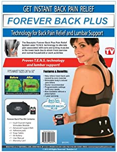 beautyko Forever Back Plus Instant Back Pain Relief and Lumbar Support