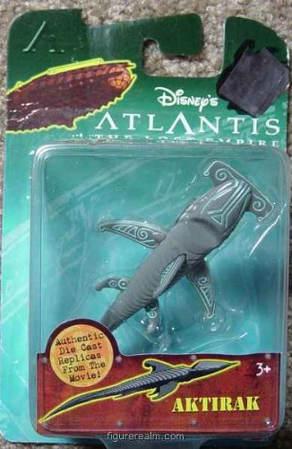 Disney's Atlantis The Lost Empire - Die Cast Aktirak - 1