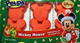 Disney Mickey Mouse Marshmallow Silhouettes Peeps...6 ct.