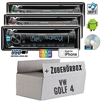 VW golf 4 iV kenwood kDC - 364U-cD/mP3/uSB avec kit de montage