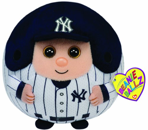 Ty Beanie Ballz MLB New York Yankees Medium Plush