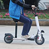 AGDAWhite-Safe-Premium-and-Reliable-Electric-Scooter-With-Black-Suitable-Seat