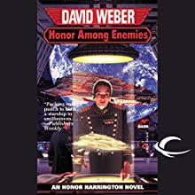 Honor Among Enemies: Honor Harrington, Book 6 Audiobook by David Weber Narrated by Allyson Johnson