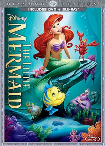 The Little Mermaid (Two-Disc Diamond Edition: Blu-ray / DVD in DVD Packaging) (Disney Movie Pack compare prices)