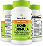 Top Selling Brain Formula Supplement – Supports and Maintains Memory, 100% All Natural Supplement for Women & Men – 60 Capsules