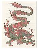 【EASY TATOO】イージータトゥー/(1枚) ドラゴン 龍 竜TH521W