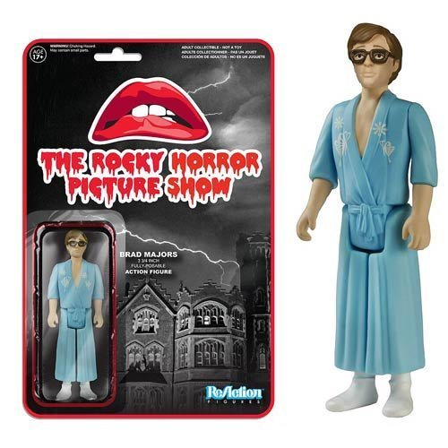 The Rocky Horror Picture Show Brad Majors ReAction 3 3/4-Inch Retro Action Figure