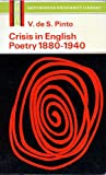 Crisis in English poetry 1880-1940 (Hutchinson university library. English literature)