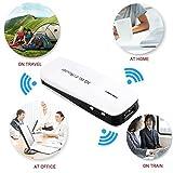 150 Mbps 3G WiFi Rounter 5 in 1 Mini Wireless Hotspot, Wifi Ap + 1800mAh Power Bank / Backup Power Black