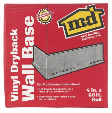 Buy M-D BUILDING PRODUCTS 73896 VINYL WALL BASE 4
