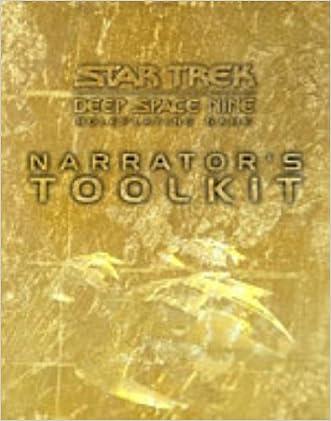 Narrator's Toolkit (Star Trek: Deep Space 9 RPG)