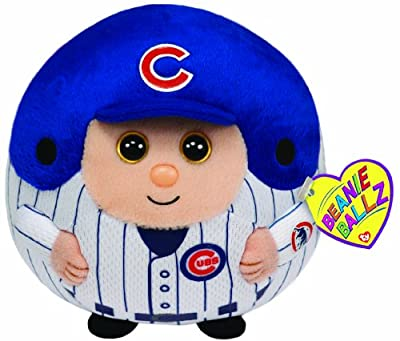 Ty Beanie Ballz MLB Chicago Cubs Plush
