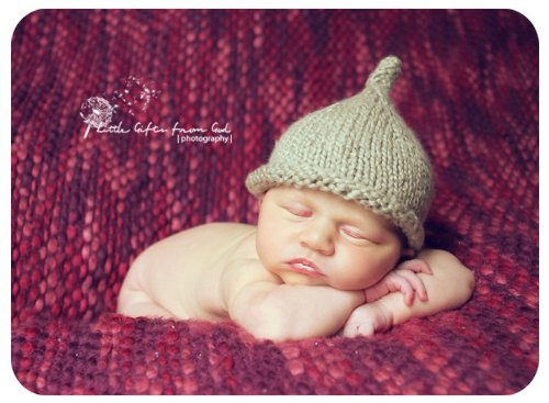 Little Dew Drop Pixie Hat Knitting Pattern - 4 Sizes Included front-447562