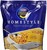 Kraft Macaroni & Cheese, Homestyle, Classic Cheddar 12.6-Ounce Pouches (Pack of 6)