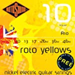 Rotosound Roto Yellows Jeu de cordes...