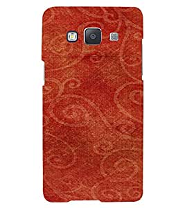 PrintVisa Ethnic Canvas Paper Design 3D Hard Polycarbonate Designer Back Case Cover for Samsung Galaxy A5