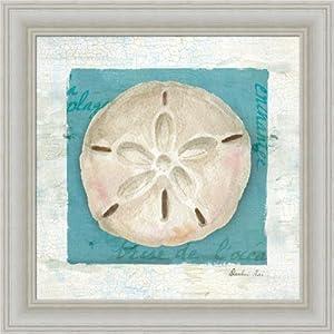 Blue seashell iii by danhui nai bathroom spa for Bathroom paintings amazon