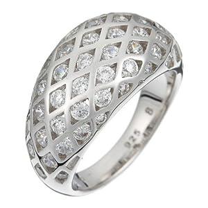 Esprit Damen-Ring Estella Shy Sterling-Silber 925 Gr. 58 (18.5) ESRG-91389.A.18