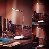 Brandson-dimmbare-LED-Schreibtischlampe-3-Helligkeitsstufen-Batteriebetrieb-mglich-Leselampe-LED-Tischlampe-Brolampe-Tischleuchte-stromsparend-berhrungsgesteuert-Touch-Control-wei