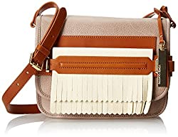 Vince Camuto Sofia Cross Body Bag, Driftwood/Ivory, One Size