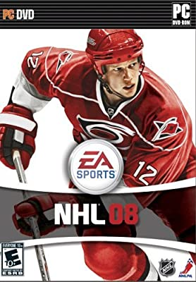 NHL 08 - PC DVD realtime realistic Professional Hockey ice gameplay by Electronic Arts Product. Realtime, realistic gameplay.