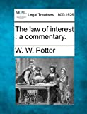 ISBN 9781240135776 product image for The Law Of Interest: A Commentary. | upcitemdb.com