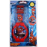 Spiderman - Reloj de pared grande, 47 cm (Kids MV16087)