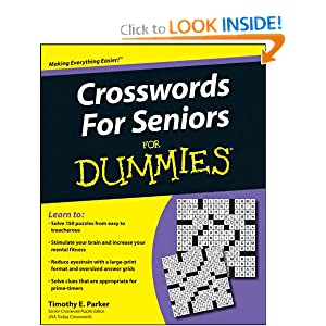 Crosswords for Seniors For Dummies - Timothy E. Parker