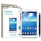 Samsung Galaxy Tab 3 8 Screen Protector Sentey® Clear Hd High Definition Tablet Ls-14223 Bundle with Free Metal Stylus Touch Screen Pen {Lifetime Warranty}