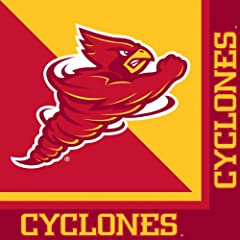 Buy Creative Converting Iowa State Cyclones Luncheon Napkins (20 Count) by Creative Converting