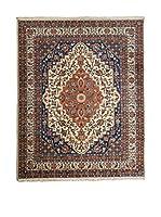 QURAMA Alfombra Persian Veramin Azul/Marfil/Camel