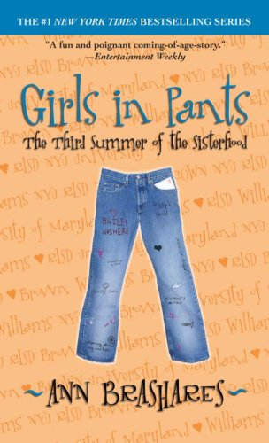 Cover of Girls in Pants: The Third Summer of the Sisterhood (Sisterhood of Traveling Pants, Book 3)