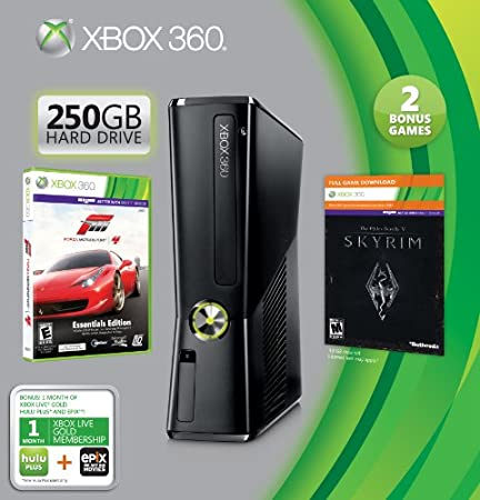 Xbox 360 250GB Holiday Value Bundle (Amazon exclusive Bonus Value)