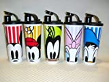 Tupperware Set of 5 Disney Peek a Boo Tumblers