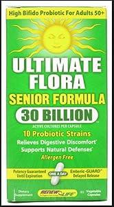 ReNew Life - Ultimate Flora Senior Formula 30 Billion - 90 Vegetarian Capsules