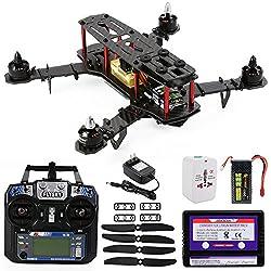 XCSOURCE OCDAY QAV250 FPV Carbon Fiber Quadcopter Helicopter+Controller+Battery RTF RC180