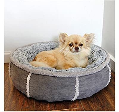 Rosewood 40 Winks Deep Plush Donut Bed, 20-inch , Parent