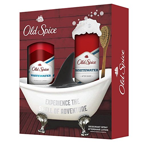 Old Spice, Whitewater, Set di lozione dopobarba (100 ml) e deodorante spray (150 ml)