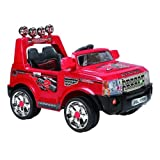 2012 12V TWIN MOTORS KIDS RIDE ON RANGE ROVER STYLE RECHARGEBLE RED CAR + PARENTAL REMOTE CONTROL+ MP3 INPUT