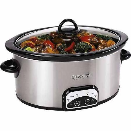 Crock-Pot 7-Quart Smart Pot Programmable Slow Cooker, Stainless Steel, SCCPVP700-S-A-WM1 (Crock Pot Smart Pot 7 Quart compare prices)