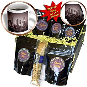 cgb_26379_1 Sandy Mertens Minnesota - Vintage View of Minneapolis - Coffee Gift Baskets - Coffee Gift Basket