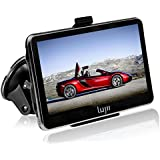"LUJII SAT NAV /Car GPS Navigation System / Multimedia Player/ FM transmitter /with UK and Europe Maps (4.3"" Smooth Black)"