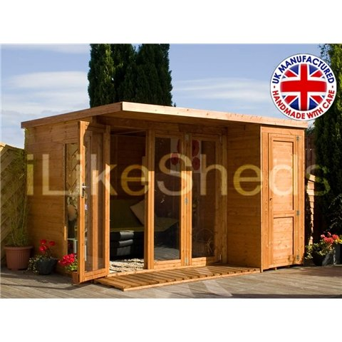 10FT x 8FT CONTEMPORY GARDENROOM - PENT ROOF